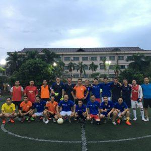 Giao lưu bóng đá với Tập đoàn Sun Group tháng 8.2018