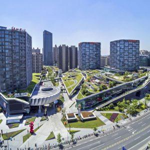 Thiết kế đô thị xanh Greenland Thượng Hải