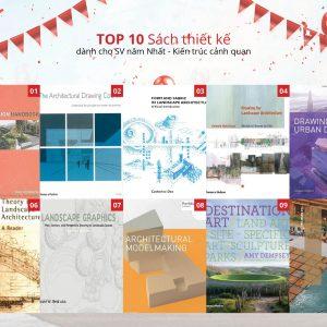 Top 10 những cuốn sách thiết kế dành cho kiến trúc sư cảnh quan (Phần 1)