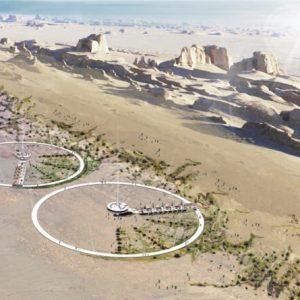 Student designs an ecotourism hot-spot for the Iranian desert / Thiết kế khu du lịch sinh thái ngay giữa sa mạc khô cằn ở Iran