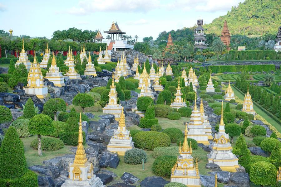 Nong Nooch: Vườn thực vật lớn nhất thế giới