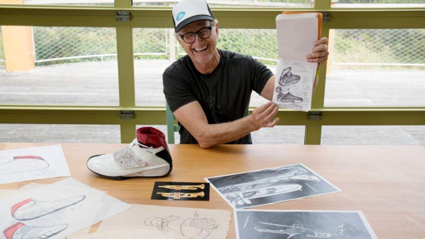 abstract art of design 3 Tinker Hatfield Footwear Design